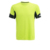 Wholesale mens fitness apparel 100% polyester dry fit t shirt breathable for sport
