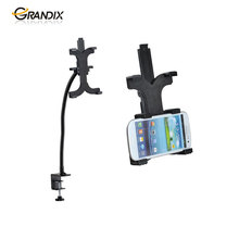 Universal Tablet Desk clamp stand with extended arm