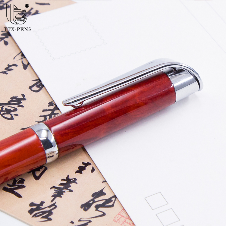 Vintage stationery Promotional Metal Pen ink pens free samples ball-point pen
