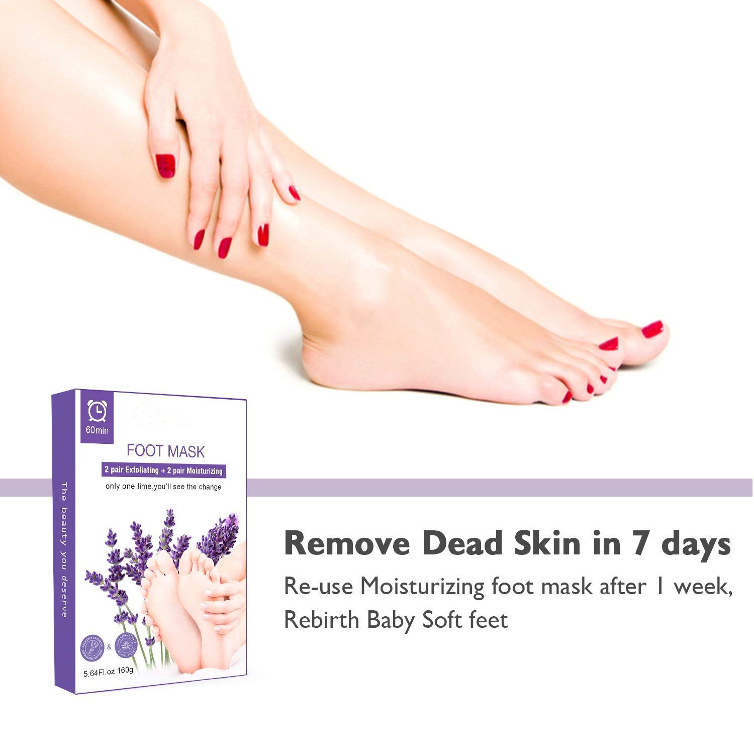 High Quality Exfoliating Peeling Foot Mask