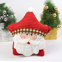 Fashion Cute Christmas Pillow Pentagram Cushion Ornaments Santa Claus Holiday Gifts