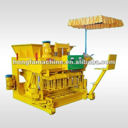 JMQ-6A FULL AUTOMATIC MOBILE CEMENT HOLLOW BLOCK MAKING MACHINE PRICE IN UAE