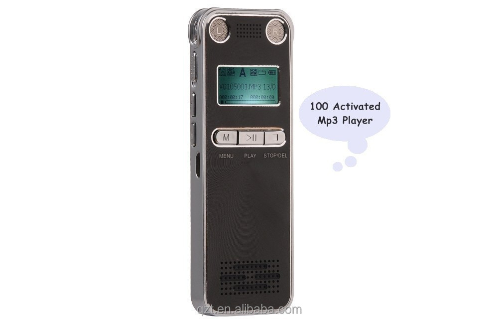 Mini Telephone digital Voice Recorder 4GB/8GB 350 Hours long time voice recorder