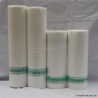 clear plastic roll rice packing bag custom reusable shopping bag
