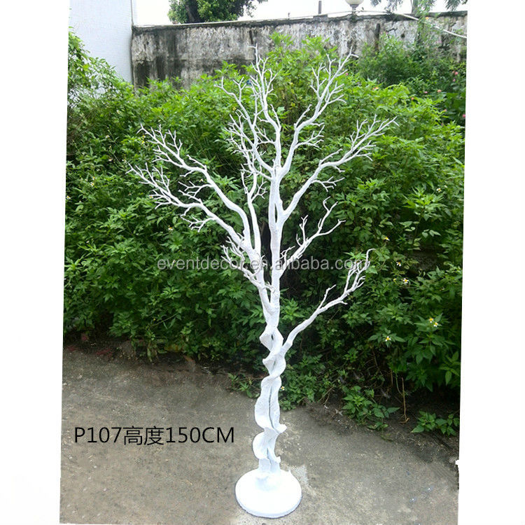 Cheap Plastic Artificial Tree No Leaves,table centerpieces for weddings tree