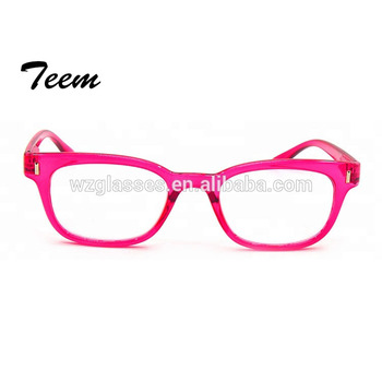Hot selling ce certificated pink point reading glasses