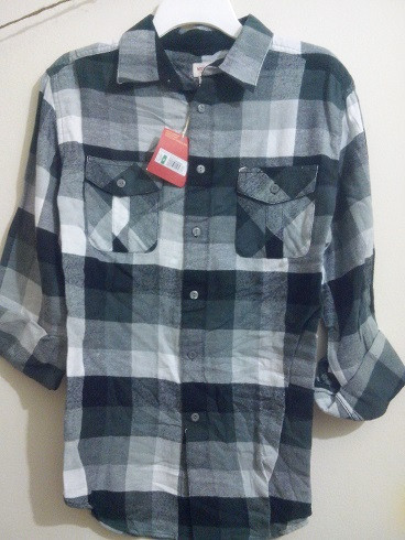 Mens Shirt Branded Winter Flannel Shirt