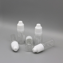 20ml PET plastic e-liquid bottle e-cig dropper bottle with screw cap