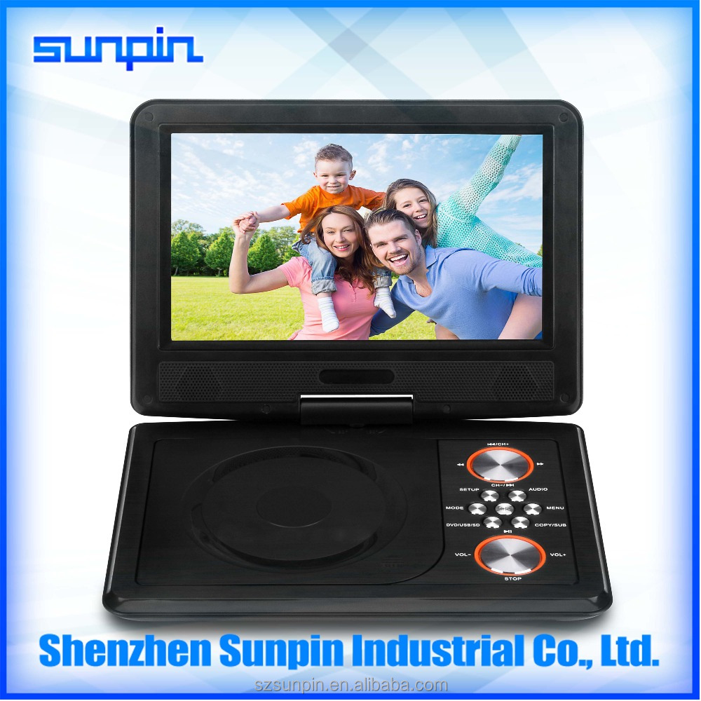 mini laptop dvd player yes include the screen 9 inch with high quality