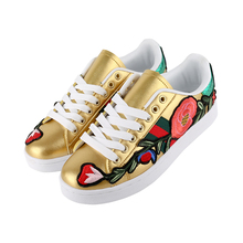 wholesale ladies slip on casual flat shoes and sneakers for women