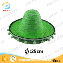 Winup New Style Handmade Mini Straw Hat Halloween hat child knitted hat