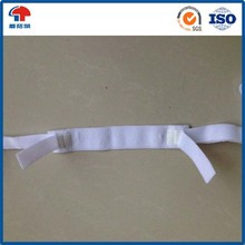 Soft double sided hook loop Strap With Injection Hook For Medical Bandage