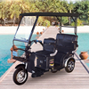Adult electric tricycle 3 wheel 3 seat motorcycle/tricycle motorcycle