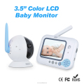 "2.4GHz 3.5"" LCD Screen Video baby wireless phone with Music lullabies, 2 way communication"