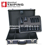 Black Aluminum Hair Tool Case , Hairdresser Tool Case Mens Grooming Kit