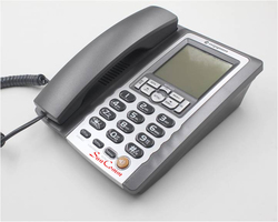 SC-112 Caller ID Phone analog regular basic telephone set with big LCD