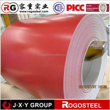 China colored steel coil 0.12-1.2mm thickness 650-1250mm width witt quality guarantee exported to 40countries