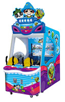 2015 SEALY HOT kid arcade redemption game Happy to shoot Children Ball Shooting Arcade Game