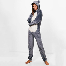 Easy to wear couple onesie for home