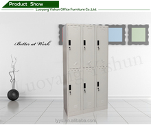 Dubai style steel 6-door office furniture locker