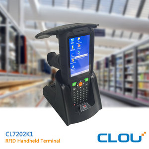 China Top RFID long distance barcode scanner with 4 inch touch screen display