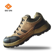 New fashionable genuine leather safety shoes