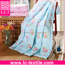 wholesale 2016 cheap quilt set colorfull patterns summer air conditioning quilt