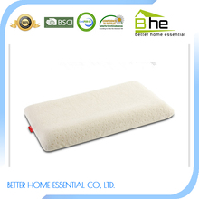 bamboo silicon fiber curved baby pillow