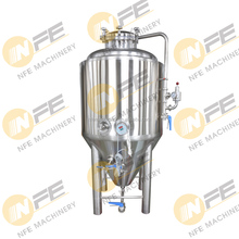 Turnkey Project 3 bbl double-walled insulated stainless steel Beer brewery Conical Fermenter unitank with glycol cooling jacket