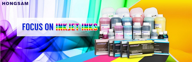 Hongsam water based printing ink pigment ink for epson canon hp