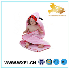 quality-assured hooded baby bath coral fleece hooded towel
