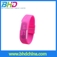 2015 Unisex blinking sport silicone led watch boys customize led digital sport wrist touch watch