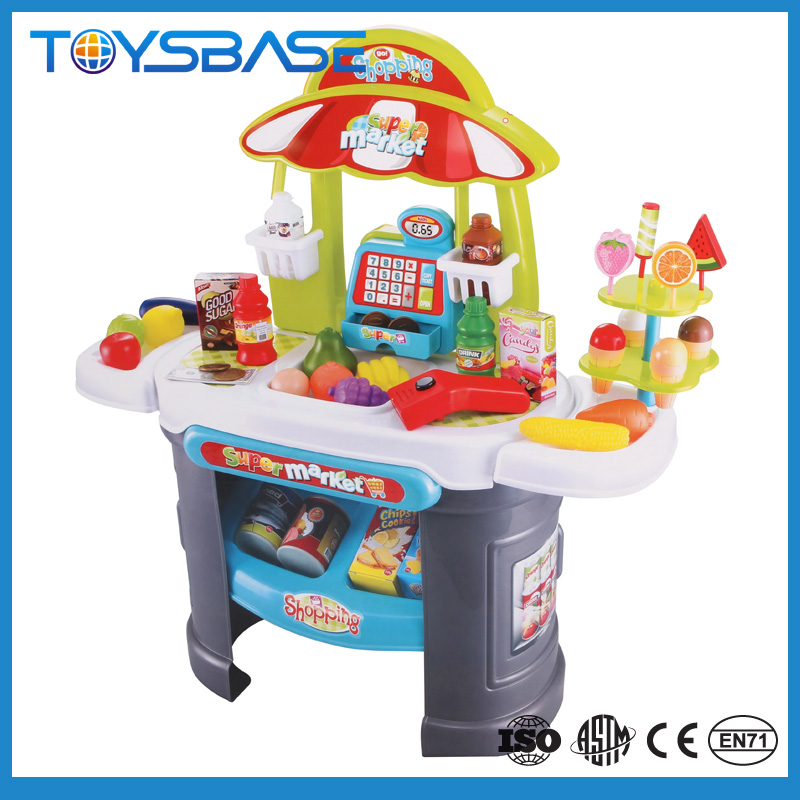 Mini preschool market toys for kids plastic