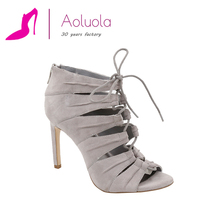 New design fashion high heel lace up women shoes italian shoe manufacturers