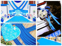 IDA new hot selling wedding stage ready made curtains drapes