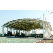 tensile ETFE/pvdf membrane structure 3 layer air pillow house with architecture design support use for stadium/Garden canopy