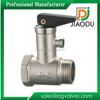Forged Brass Safety Valve With Plastic Cap For Water