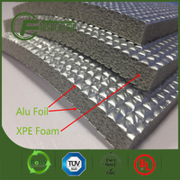 Double Sides Metalized XPE Foam Roll for Roof Inuslation