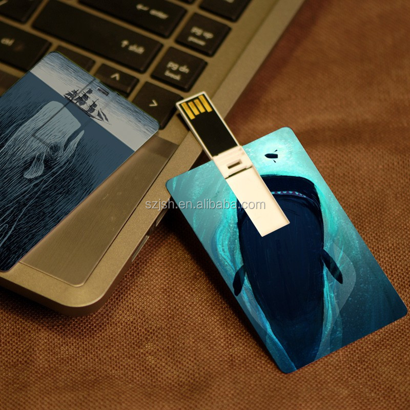 Customized logo Business Credit Card USB flash drive 2GB 4GB 8GB USB flash Memory 100% Real Capacity Plastic USB flash Card