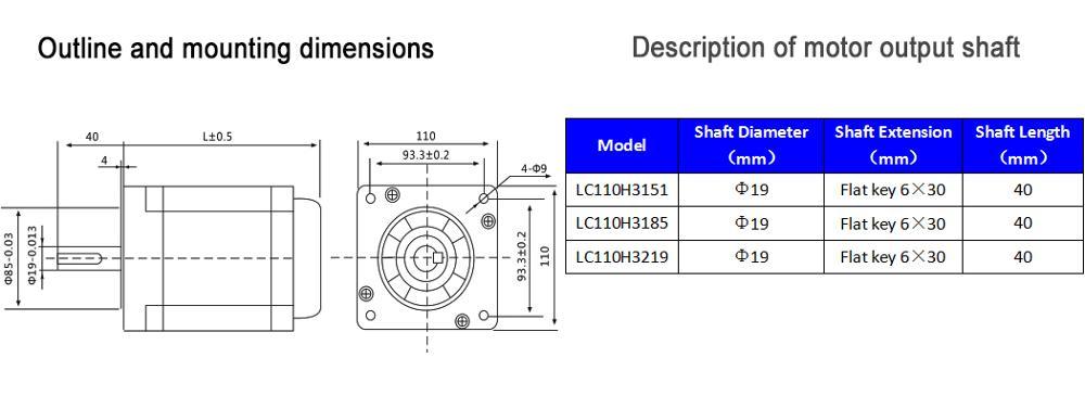 3 phase Nema 42 20Nm geschlossen schleife stepper servo motor driver ...
