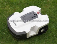 Two Independent Lithium Batteries Four Blades Lawn Mower Robot