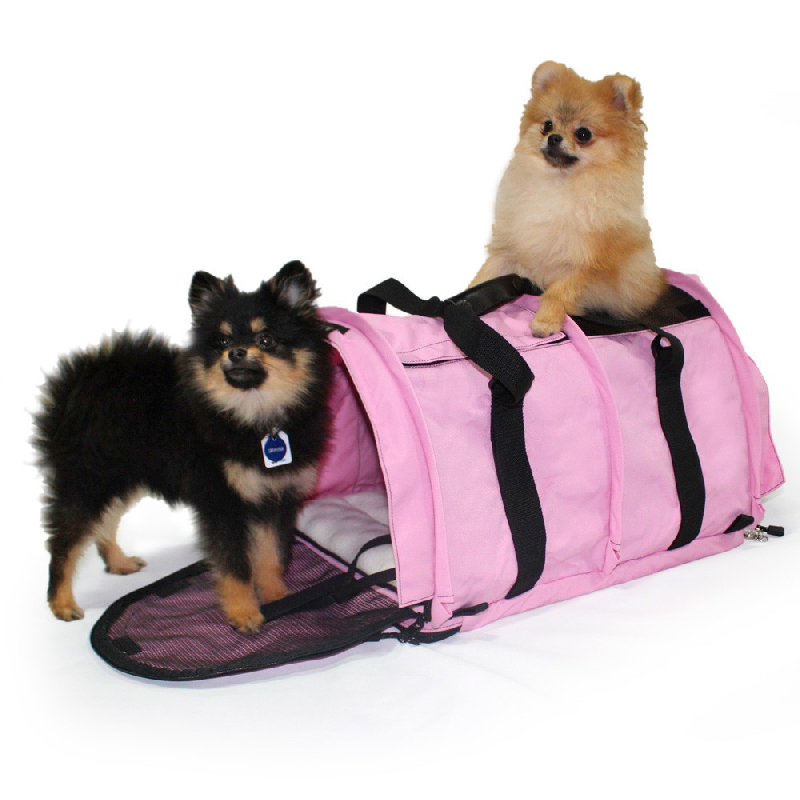 Pet Outdoor Carry Bag Large Carrier for Two Dogs