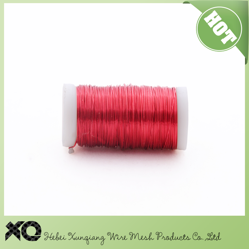 0.35mm colored jewelry wire in copper,jewelry making wire