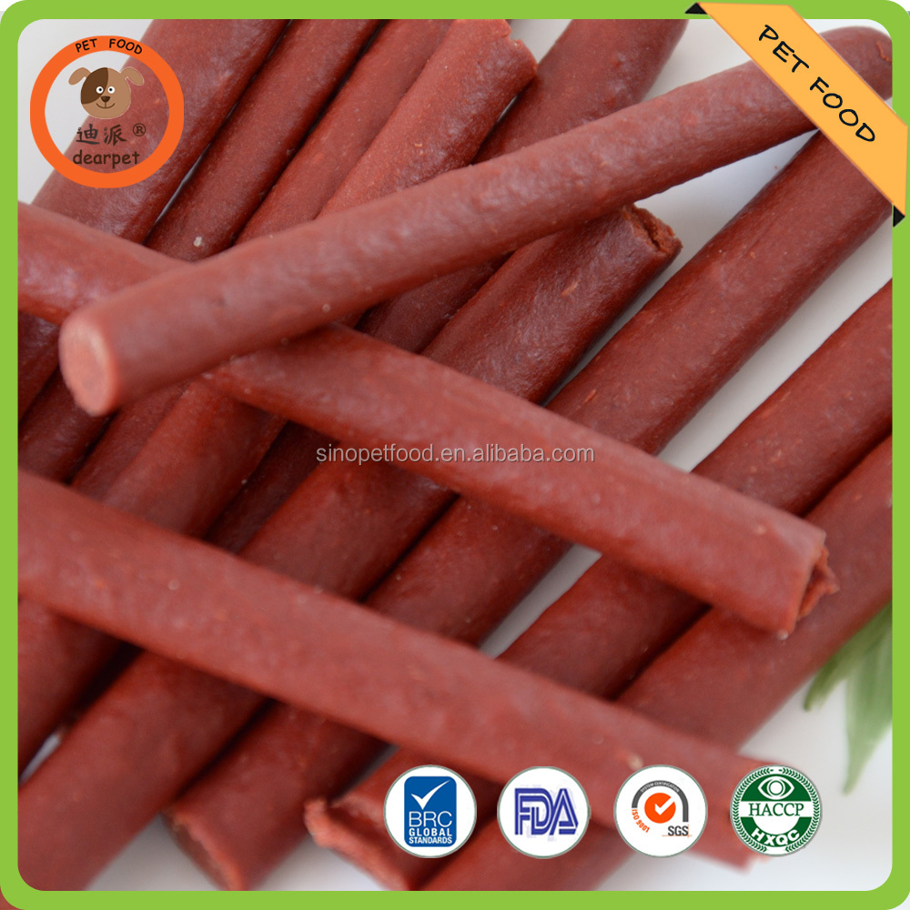 beef stick dry dog food