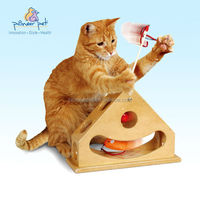Wooden cat toys