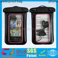 2014 outdoor inflatable pvc phone waterproof case