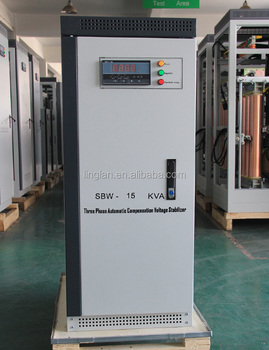 15KVA Three Phase Automatic Voltage Stabilizer for Telecommunication