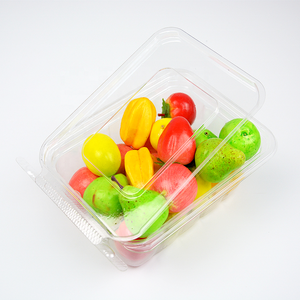 Plastic blister fruit box /container/ fruit Tray/ Clear blister clamshell packaging for fruit
