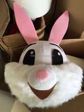 Hola Custom bunny mascot head for sale