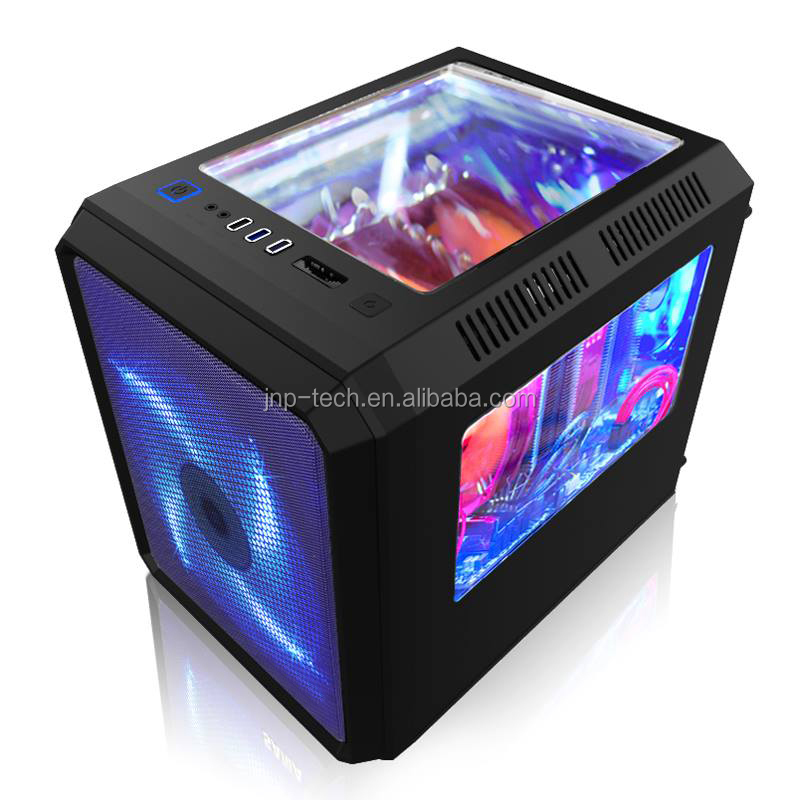 Chambers Concept structure horizontal Cube Micro ATX/ ITX computer Gaming PC case
